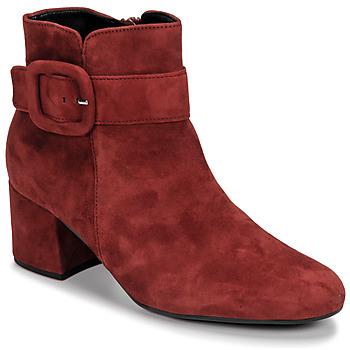 Schuhe Damen Low Boots Gabor 3581610 Rot
