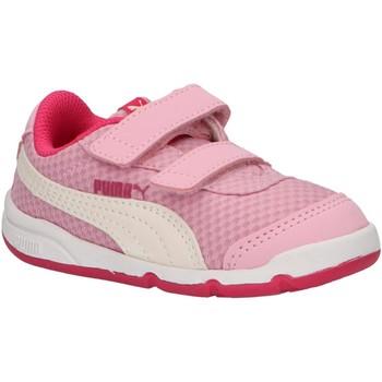 Schuhe Mädchen Multisportschuhe Puma 190704 STEPFLEEX Rosa