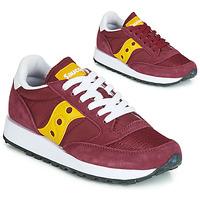 Schuhe Damen Sneaker Low Saucony JAZZ ORIGINAL VINTAGE Bordeaux / Gelb
