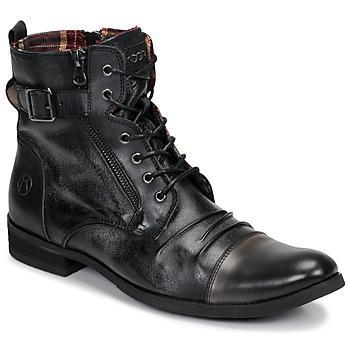 Schuhe Herren Boots Kdopa DUBLIN Schwarz