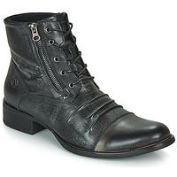 Schuhe Herren Boots Kdopa MANSHESTER Schwarz