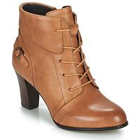 Schuhe Damen Low Boots Kdopa ALOE Cognac