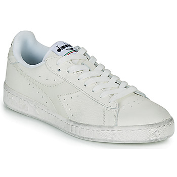 Schuhe Sneaker Low Diadora GAME L LOW WAXED Weiss
