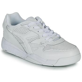 Schuhe Sneaker Low Diadora REBOUND ACE Weiss