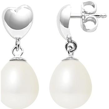 Uhren Damen Ohrringe Blue Pearls BPS K306 W OB Weiss