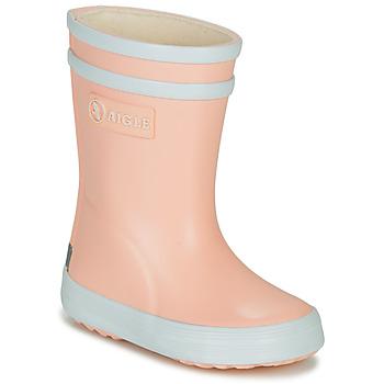 Schuhe Mädchen Gummistiefel Aigle BABY FLAC Rose