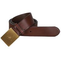 Accessoires Herren Gürtel Polo Ralph Lauren PP PLAQUE-CASUAL-MEDIUM Braun