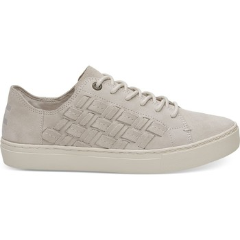 Schuhe Damen Sneaker Low Toms Suede Basketweave Women's Lenox Sneaker Birch