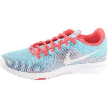 Schuhe Damen Sneaker Low Nike Flex Fury GS Blau,Hellblau,Rosa