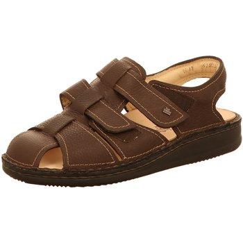 Schuhe Herren Sandalen / Sandaletten Finn Comfort Offene Milton nut/Bison 1520-055258 braun