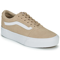 Schuhe Damen Sneaker Low Vans WARD PLATFOR BE Beige