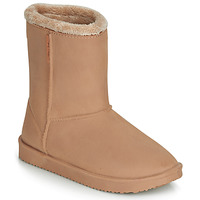 Schuhe Damen Schneestiefel Be Only COSY Beige