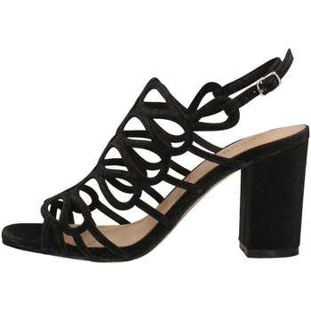 Schuhe Damen Sandalen / Sandaletten Menbur 09524 SANDELHOLZE Frau Schwarz Schwarz