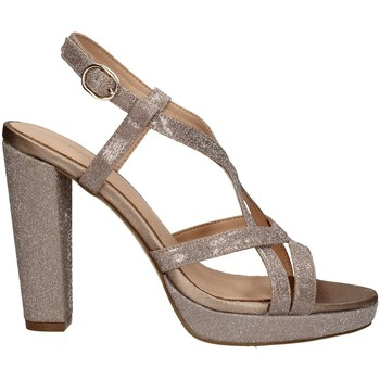 Schuhe Damen Sandalen / Sandaletten Menbur 20422 SANDELHOLZE Frau NUDE NUDE