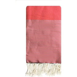 Kleidung Damen Pareo Traditions Med ZIWANE ND FLUO ROSE Rose
