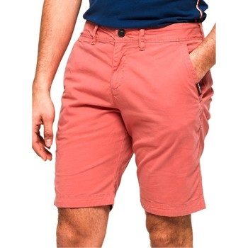 Kleidung Herren Shorts / Bermudas Superdry INTERNATIONAL SLIM CHINO LITE SHORT Rosa