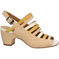 Schuhe Damen Sandalen / Sandaletten Salvador Ribes MAGGY NUVOLA avorio-ginestra-bian