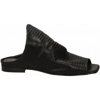 Schuhe Damen Pantoletten Poesie Veneziane VELVET STUOIA nero