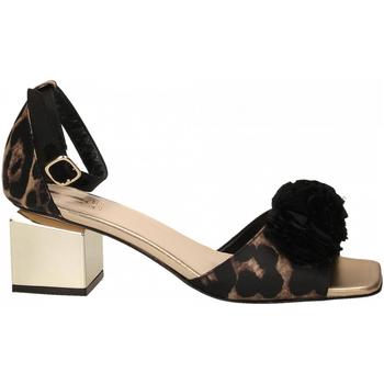 Schuhe Damen Sandalen / Sandaletten Jeannot SCARPE D platino---nero