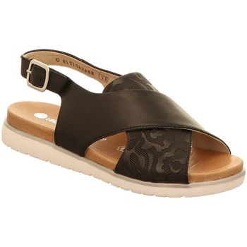 Schuhe Damen Sandalen / Sandaletten Remonte Dorndorf Sandaletten D4054-01 schwarz