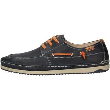 Schuhe Herren Slipper Pikolinos M1N-1023 BLUE