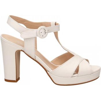 Schuhe Damen Sandalen / Sandaletten Les Venues NAPPA bianco