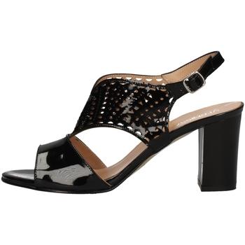 Schuhe Damen Sandalen / Sandaletten Soffice Sogno E9431C BLACK
