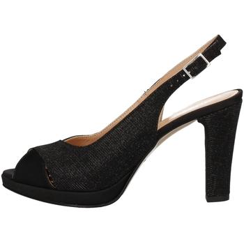 Schuhe Damen Sandalen / Sandaletten Soffice Sogno E9471 BLACK
