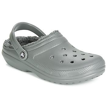 Schuhe Pantoletten / Clogs Crocs CLASSIC LINED CLOG Grau