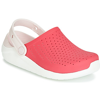 Schuhe Mädchen Pantoletten / Clogs Crocs LITERIDE CLOG K Rot / Weiss