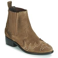 Schuhe Damen Boots Pepe jeans CHISWICK LESSY Braun