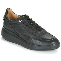 Schuhe Damen Sneaker Low Geox D RUBIDIA Schwarz