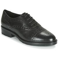 Schuhe Damen Derby-Schuhe Geox D BETTANIE Schwarz