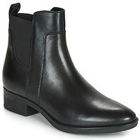 Schuhe Damen Boots Geox D FELICITY Schwarz