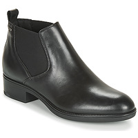 Schuhe Damen Boots Geox D FELICITY NP ABX C Schwarz