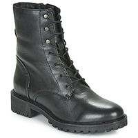 Schuhe Damen Boots Geox D HOARA Schwarz