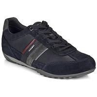 Schuhe Herren Sneaker Low Geox U WELLS Marine