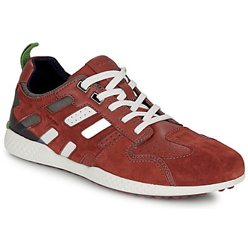 Schuhe Herren Sneaker Low Geox U SNAKE.2 Braun
