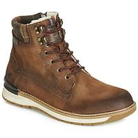Schuhe Herren Boots Mustang 4141602-362 Braun