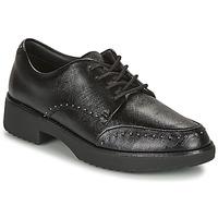 Schuhe Damen Derby-Schuhe FitFlop KEELY MICROSTUD BROGUES Schwarz