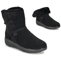 Schuhe Damen Boots FitFlop MUKLUK SHORTY III Schwarz