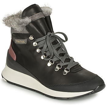 Schuhe Damen Sneaker High Philippe Model MONTECARLO Schwarz