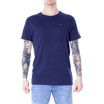 Kleidung Herren T-Shirts Tommy Hilfiger DM0DM04411 Blu