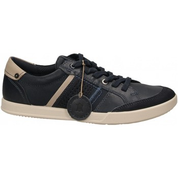 Schuhe Herren Sneaker Low Ecco Collin 2.0 NavyDenimBlue YabuckClio navy-denim-blue