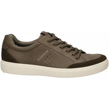 Schuhe Herren Sneaker Low Ecco Soft 7 M TarmacDarkclay SuedeDroid tarmac-marrone