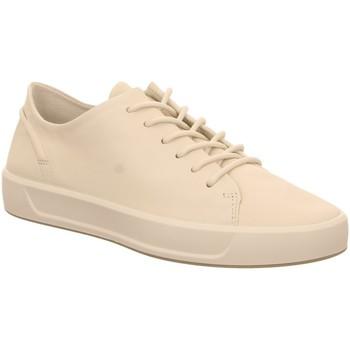 Schuhe Damen Derby-Schuhe Ecco Schnuerschuhe  SOFT 8 W 450843/01152 weiß