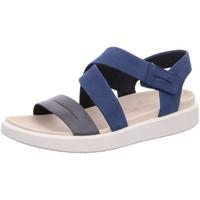 Schuhe Damen Sandalen / Sandaletten Ecco Sandaletten Sandalette Flowt W 273613 52625 blau
