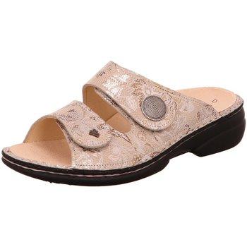 Schuhe Damen Pantoletten / Clogs Finn Comfort Pantoletten Sansibar 02550-562051 sand Fleur 02550-562051 beige