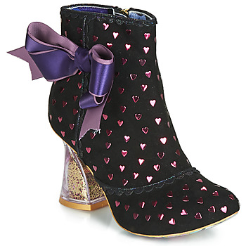 Schuhe Damen Low Boots Irregular Choice OUTTA TIME Schwarz