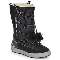 Schuhe Mädchen Schneestiefel Geox J SLEIGH GIRL B ABX Schwarz